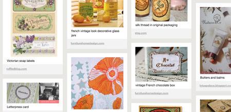 Sample Pinterest Moodboard