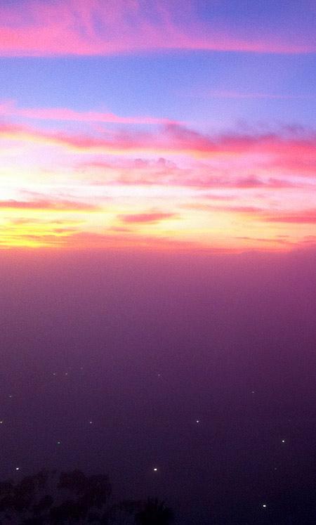 Sunset photo by James Pestridge