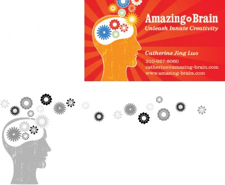 Logos and Collateral for Amazing Brain