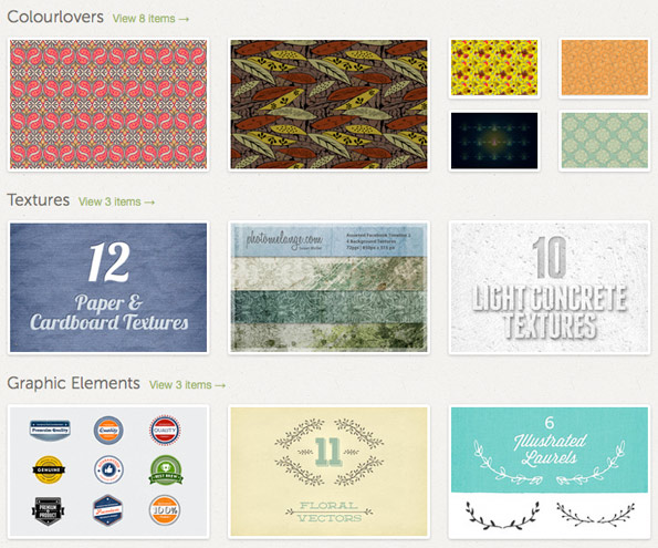 Collections curated by Penina on Creative Market