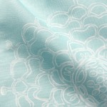 Seaglass Chrysanthemum II Fabric