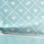 Get Never Far Away border fabric and wall decals on Spoonflower