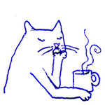Pensive Kitty, by Penina (thumbnail)