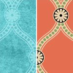 Downloadable Seamless Pattern: Simple Damask (thumb)