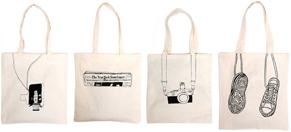Simple Canvas Totes