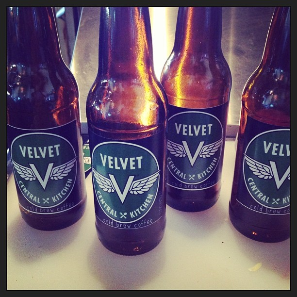 Velvet Central Kitchen Cold Brew Bottles