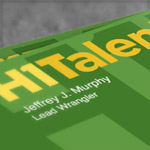 Logo Design Comp for H1Talent.com (thumb)