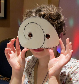 Teen mask workshop: shell eyes