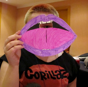 Teen mask workshop: lips