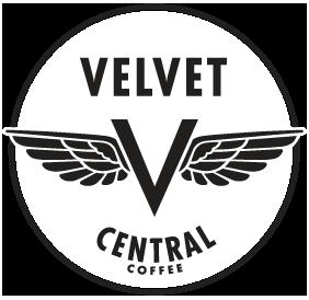 Velvet Central Logo (black) - design by Penina S. Finger