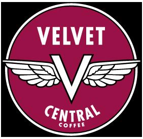 Velvet Central Logo - design by Penina S. Finger