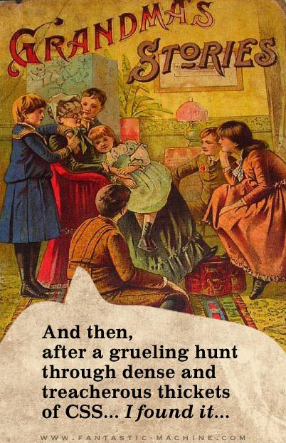 grandma's css tales