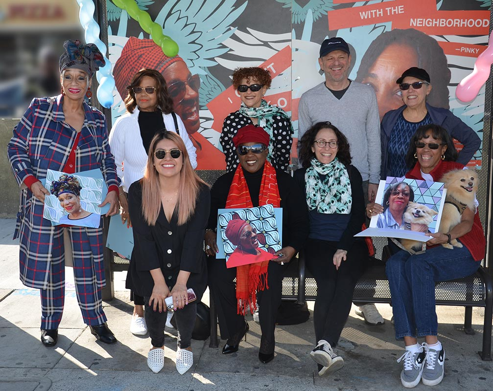 Art unveiling party at Pico and Hauser
